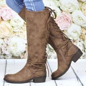 Very Volatile Marcelina Tall Riding Boots-N369